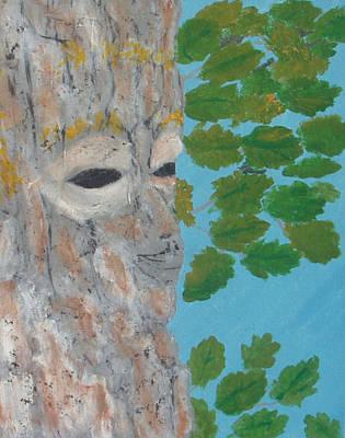 Wall Art - Painting - Tree Spirit by Helen Krummenacker