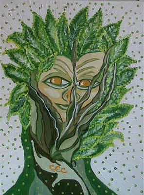 Tree Sprite Art Print by Carolyn Cable