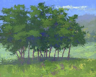 Tree Stand Art Print
