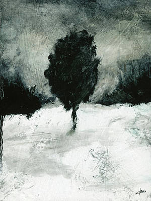 Painting - Tree Study No 47 by Christian Klute