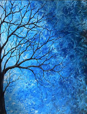 Tree Swirls Art Print by Sabrina Zbasnik