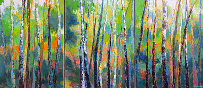 Painting - Tree Tops by Melody Cleary