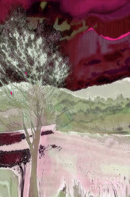 Tree Witness To Lake At Dawn Art Print