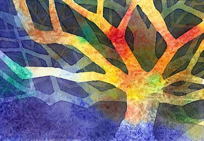 Tree Art Print by Yevgenia Watts
