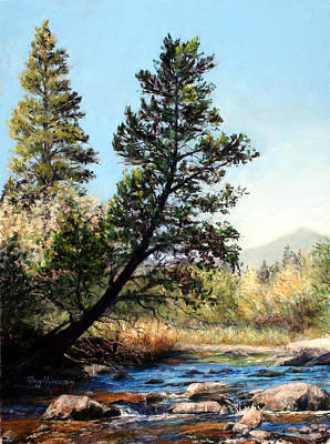 Tree Yoga Art Print