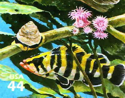Animal Painting - Treefish by Lanjee Chee