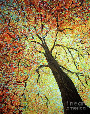 Painting - Treehouse Branches by Tamyra Crossley