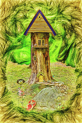 Photograph - Treehouse by John M Bailey