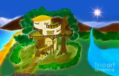 Treehouse  Print by Sarun T