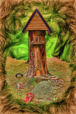 Photograph - Treehouse Studio by John M Bailey