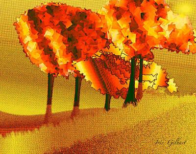 Digital Art - Treeport by Iris Gelbart