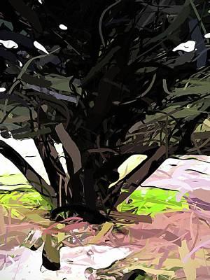 Trees 1 Art Print