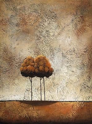 Trees 3 Art Print by Jane Hunt