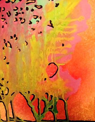Trees Art Print by Amanda Schambon