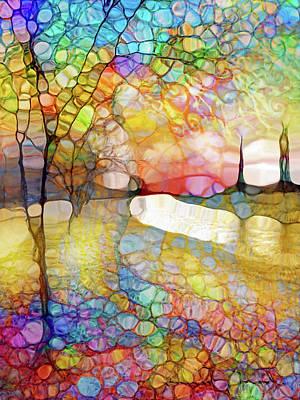Digital Art - Trees Awaiting Spring by Tara Turner