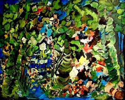 Trees Art Print by Ellen Seymour