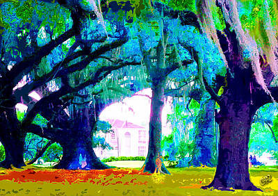 Painting - Art In The Park by CHAZ Daugherty