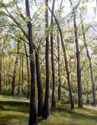 Trees Art Print by Lorna Skeie
