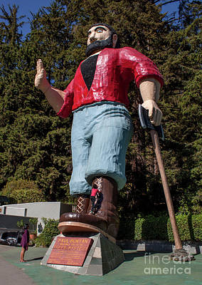 Photograph - Trees Of Mystery Paul Bunyan by Gregory Dyer