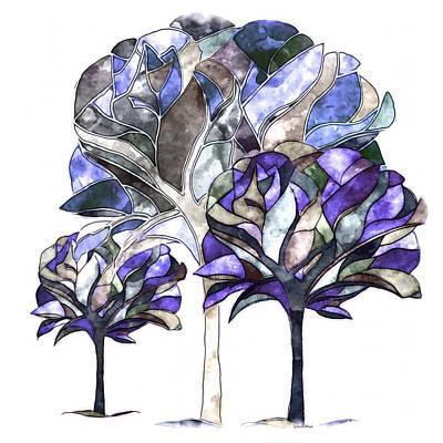 Trees Of Sadness Art Print