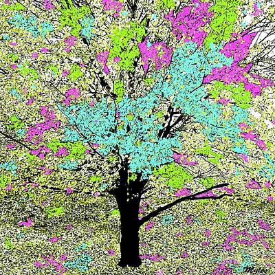 Painting - Trees Of Spring by Saundra Myles