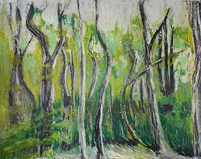Trees On Appalachian Trails Original by Regina WARRINER