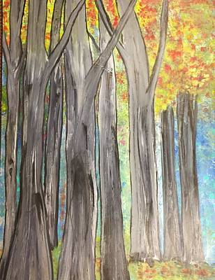 Painting - Trees by Paula Brown