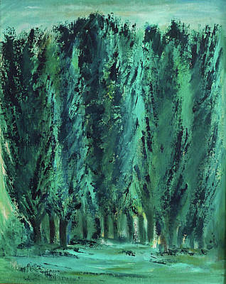 Painting - Trees by Phyllis Hanson Lester
