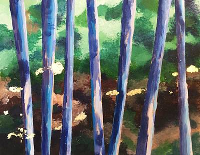 Mixed Media - Trees  by Sarah Vandenbusch