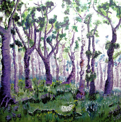 Painting - Trees by Shelley Bain
