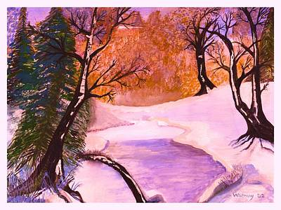 Trees Talking Revisited Original by Anne-Elizabeth Whiteway