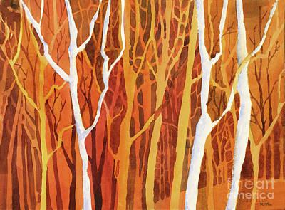 Painting - Trees Trees Trees by Ryan Fox