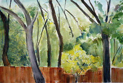 Painting - Trees1 by Tom Simmons