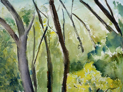 Painting - Trees2 by Tom Simmons
