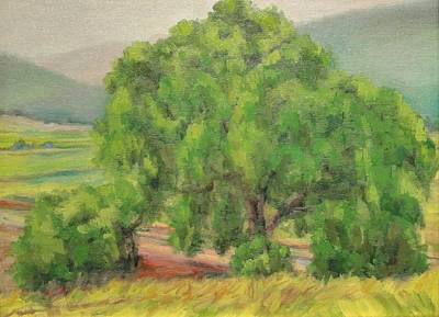 Painting - Treescape by Kevin Davidson