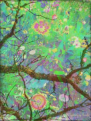 Treetop View Of A Forest Floor Original by ARTography by Pamela Smale Williams