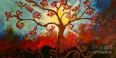 Tree Painting - Treevalation by Stefan Duncan