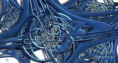 Digital Art - Trefoiled by Ron Bissett
