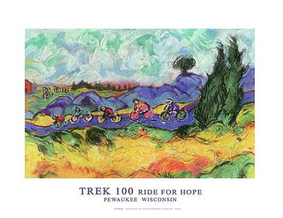 Trek 100 Poster Art Print