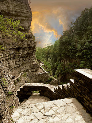 Photograph - Treman Park Gorge by Jessica Jenney