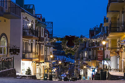 Photograph - Tremblant Streets by Michael Santos