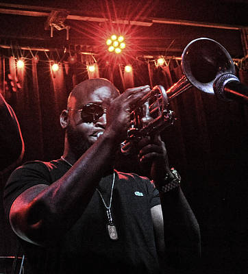 Photograph - Treme Brass Band 2013 by Steve Archbold