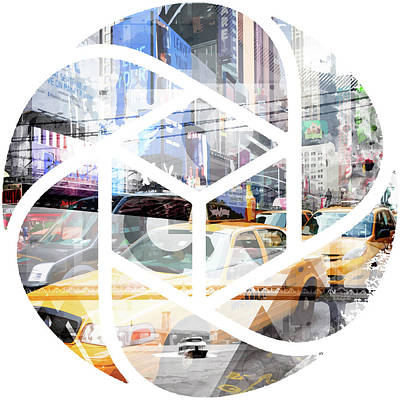 Abstract Sights Photograph - Trendy Design Nyc Geometric Mix No 9 by Melanie Viola