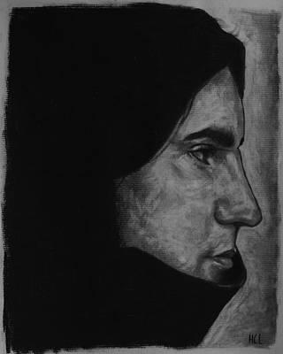 Trent Reznor Drawing - Trent Reznor by Harrison Larsen