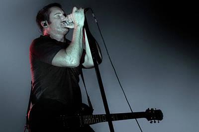 Trent Reznor Photograph - Trent Reznor, Nine Inch Nails by Dante Blacksmith