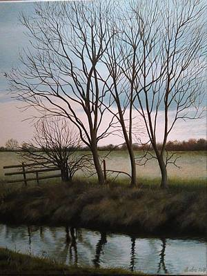 Painting - Trent Side by Caroline Philp