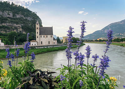 Photograph - Trentino-alto Adige - Trento. Church Of St Apollinaris. by Alexandre Rotenberg
