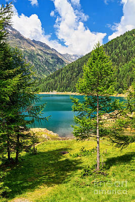 Photograph - Trentino - Lake Pian Palu by Antonio Scarpi