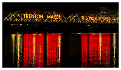 Photograph - Calhoun Street Bridge, Trenton by Shawn Colborn