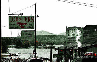 Photograph - Trenton Lobster Pound by Patti Whitten